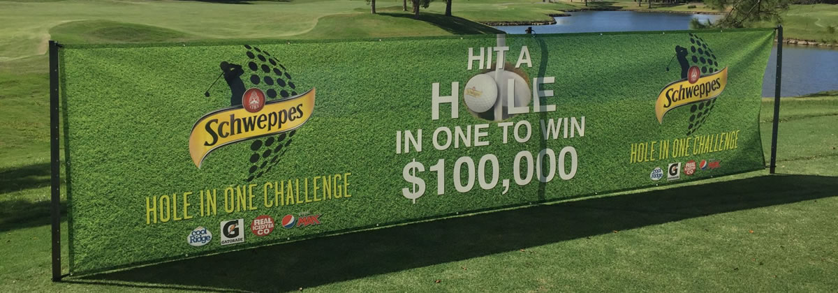 Hole in One Golf Competition with Promotion Prize Insurance.
